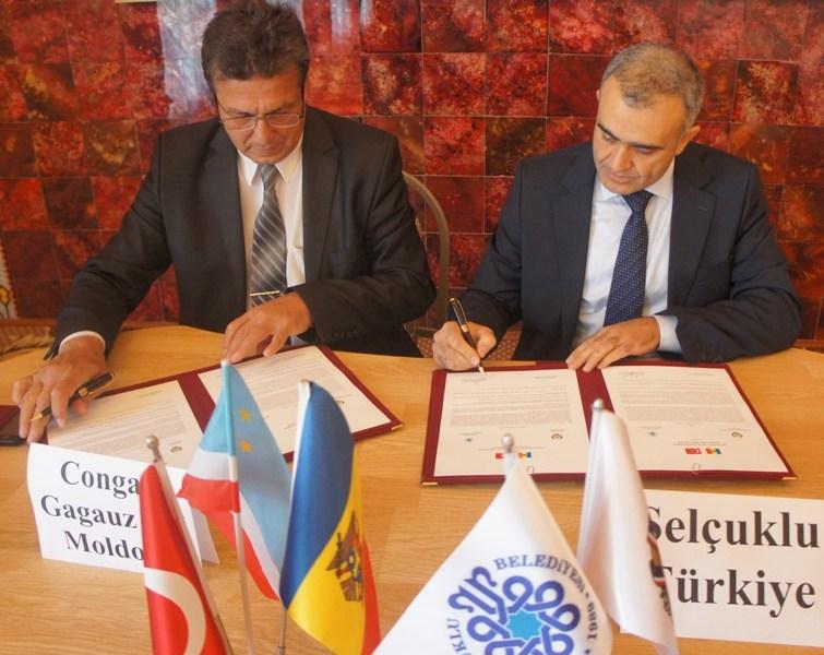 Moldova Kongaz Belediyesi ile Kardeşlik Protokolü İmzalandı